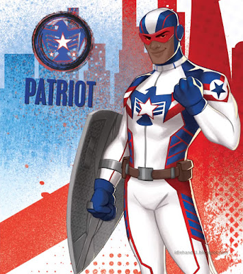 Marvel Rising Secret Warriors Animated Film Patriot