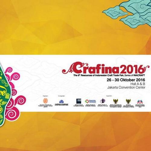 Tinuku CRAFINA 2016, 26 - 30 October, Jakarta, Craft Trade Fair