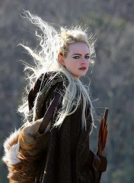 Annie jako elfka