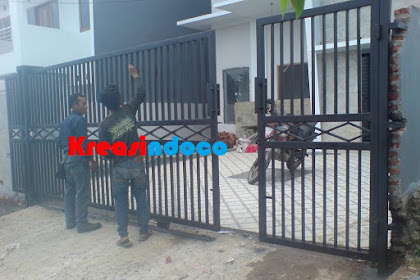 Pintu Pagar Besi Minimalis Layanan Jakarta