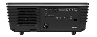 BenQ W8000 DLP Projector Rear