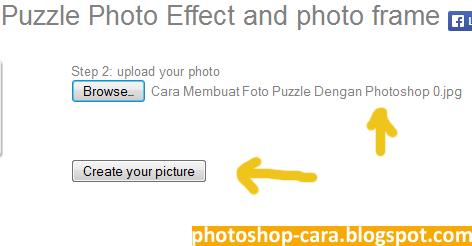 Cara Membuat Foto Puzzle Online