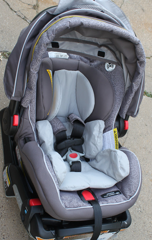 A Graco Safety Party and Review of the NEW Graco SnugRide Click Connect 40  Car Seat 46f15807e