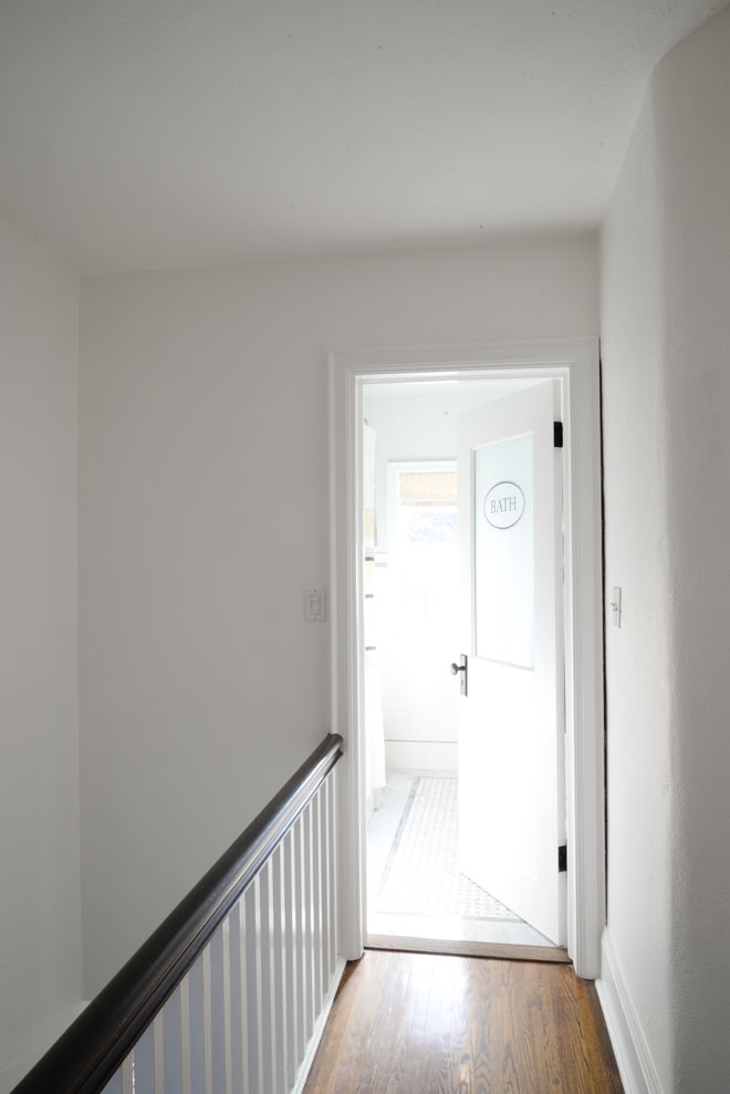 A Bright White Hallway Rambling Renovators