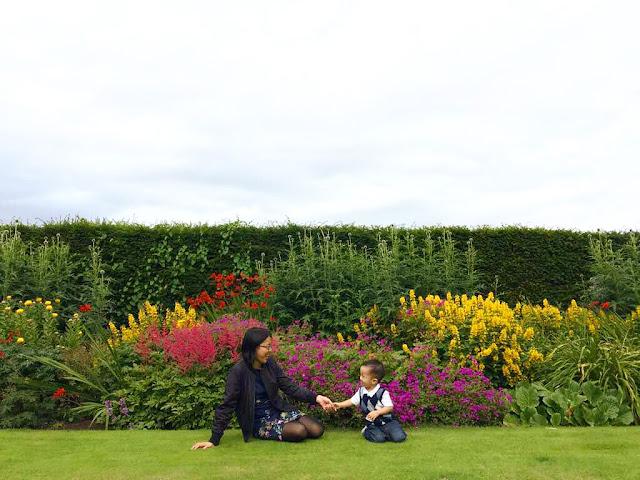 At Belfast Botanic Garden