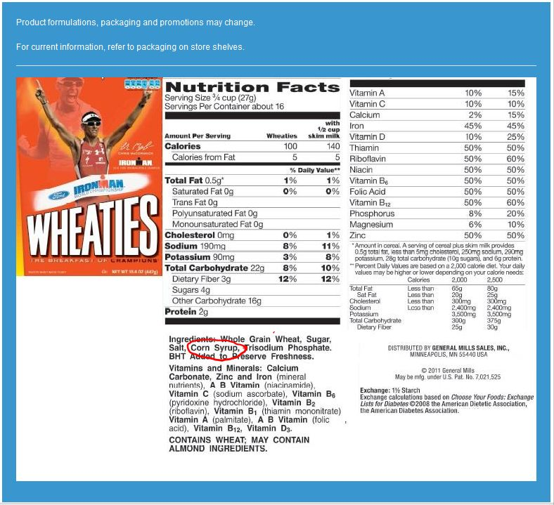 Life cereal nutrition facts - Online Sale
