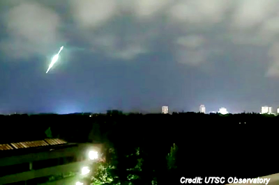 Fireball Over East Coast Captured On Video
