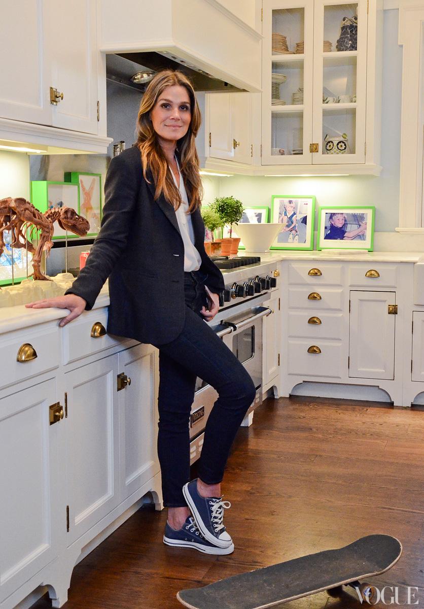 Skinny Kitchen Cabinet Madison Muse: Aerin Lauder American Beauty