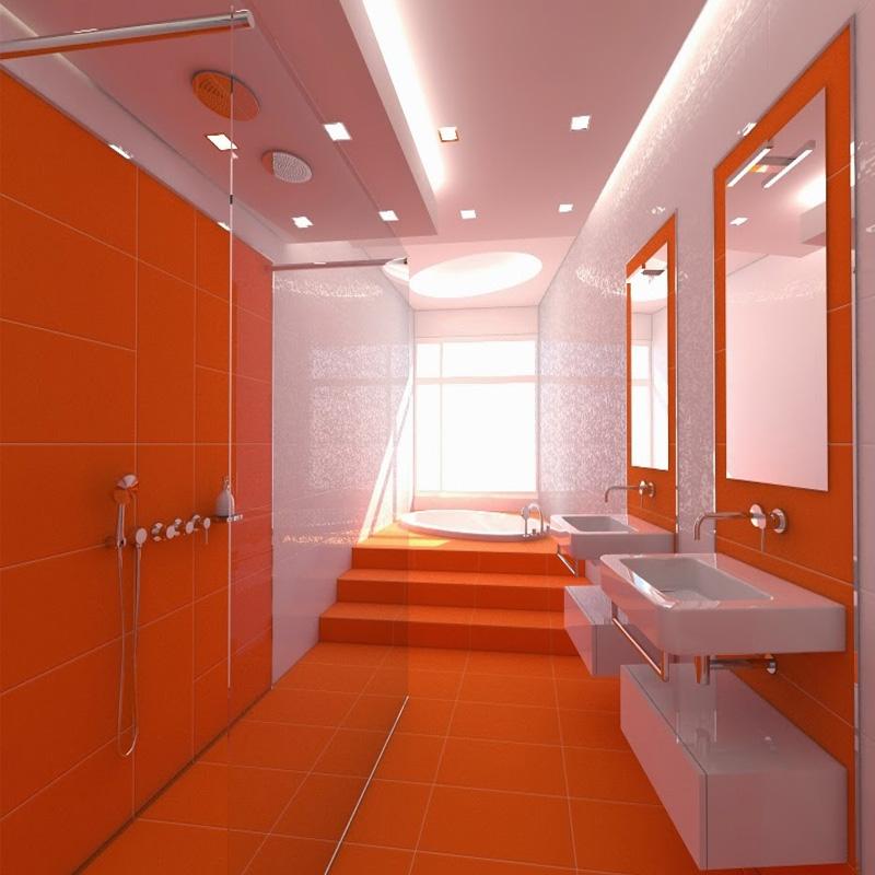 20 Warna Dinding: Kombinasi Warna Oren Untuk Ruangan Rumah