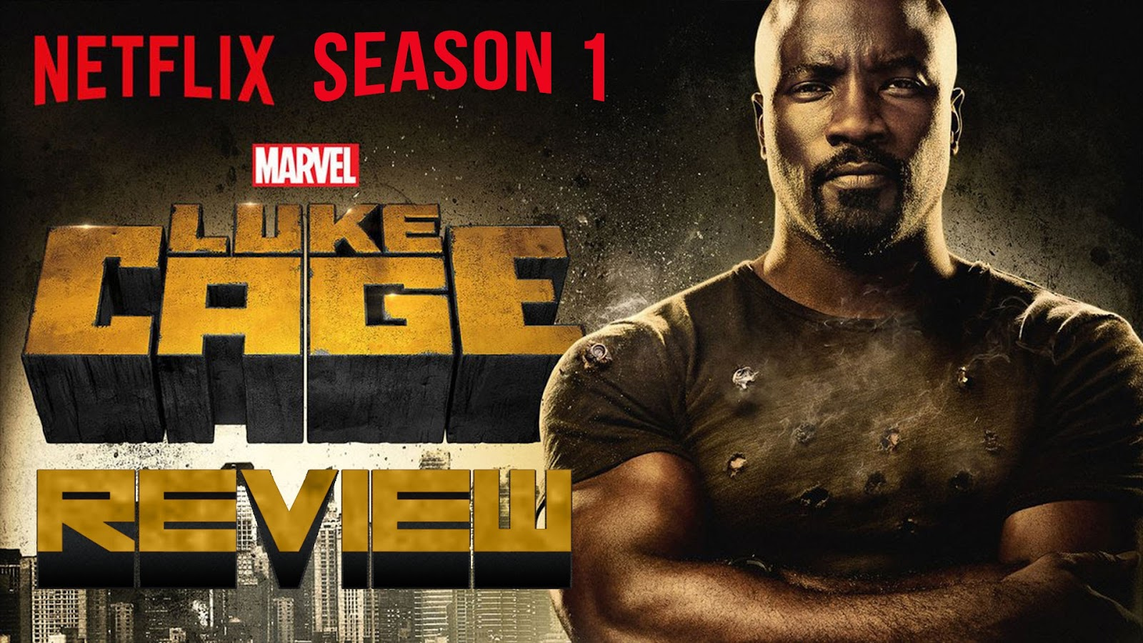 Netflix desktop Marvel's Luke Cage wallpaper