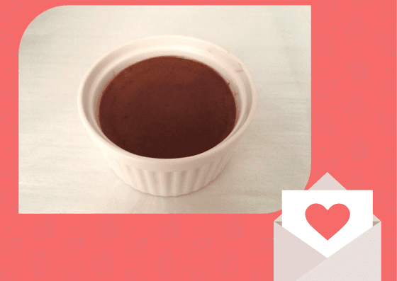 簡単 チョコ プリン