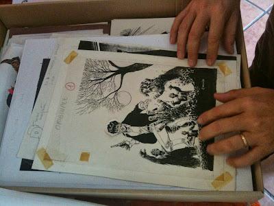 Dylan Dog #1 - disegno originale (Claudio Villa)