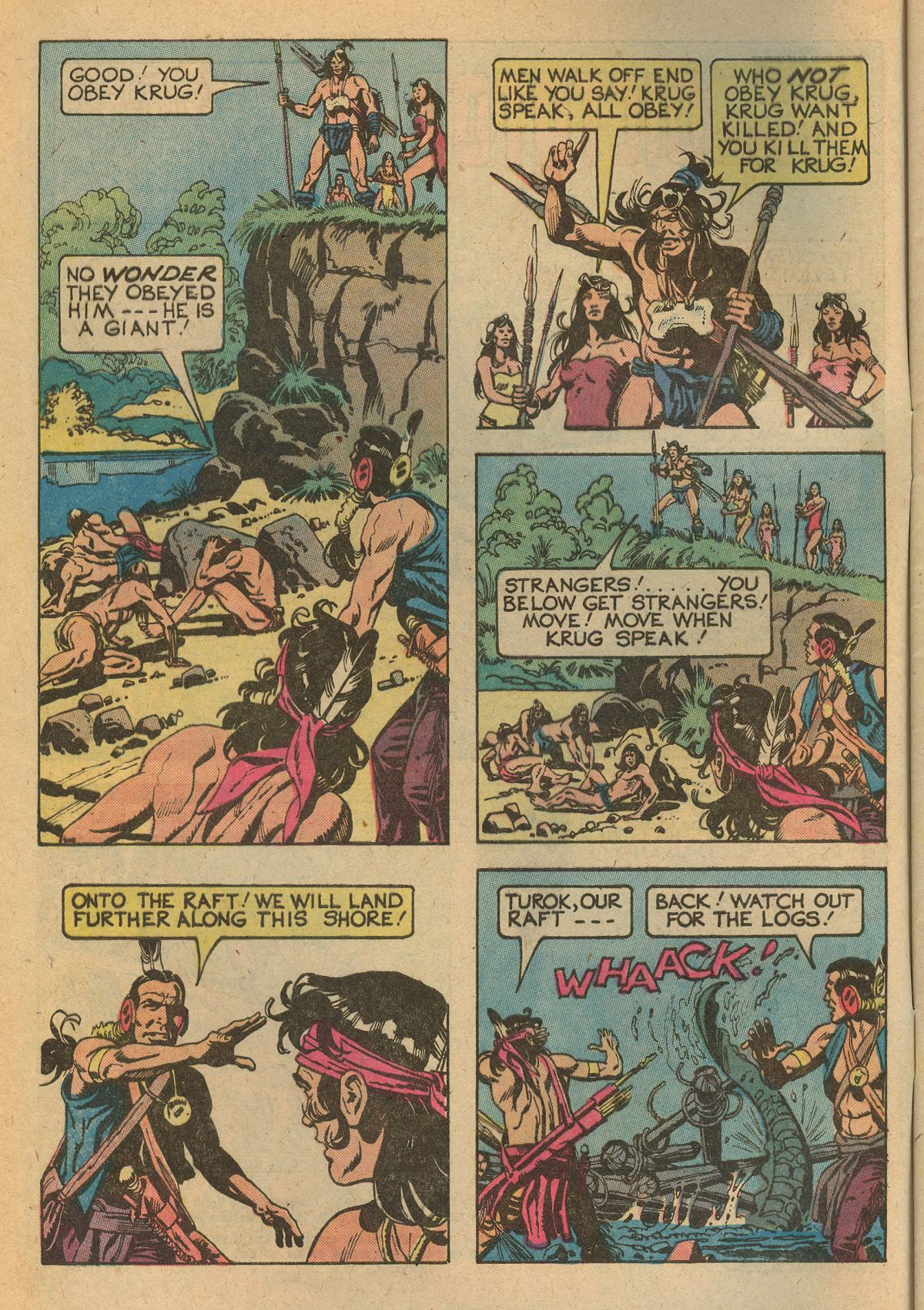 Read online Turok, Son of Stone comic -  Issue #115 - 4