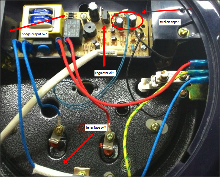 pressure transmitter wiring diagram car audio wire noxxa multifunction cooker - no power « diy electronics