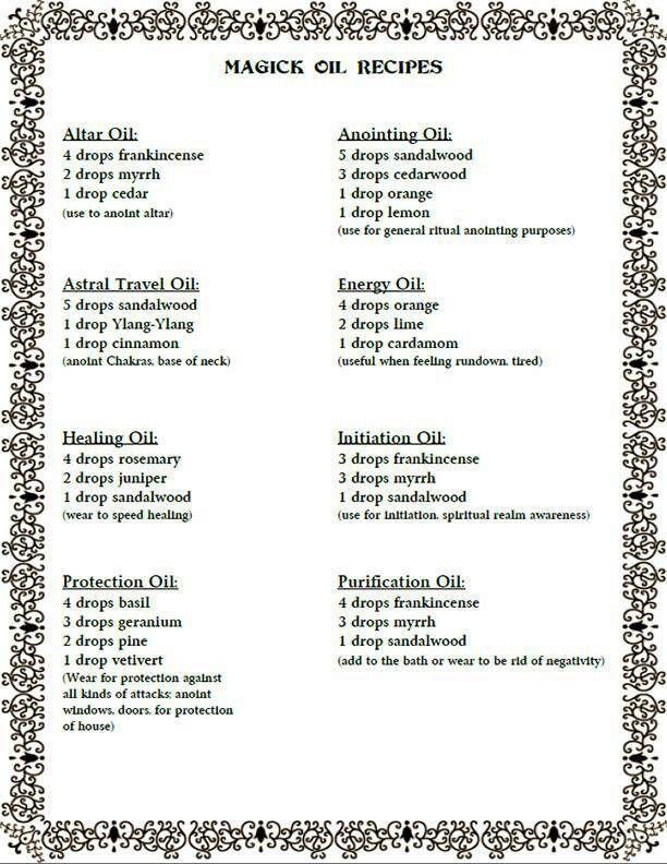 Sandalwood Oil Wicca