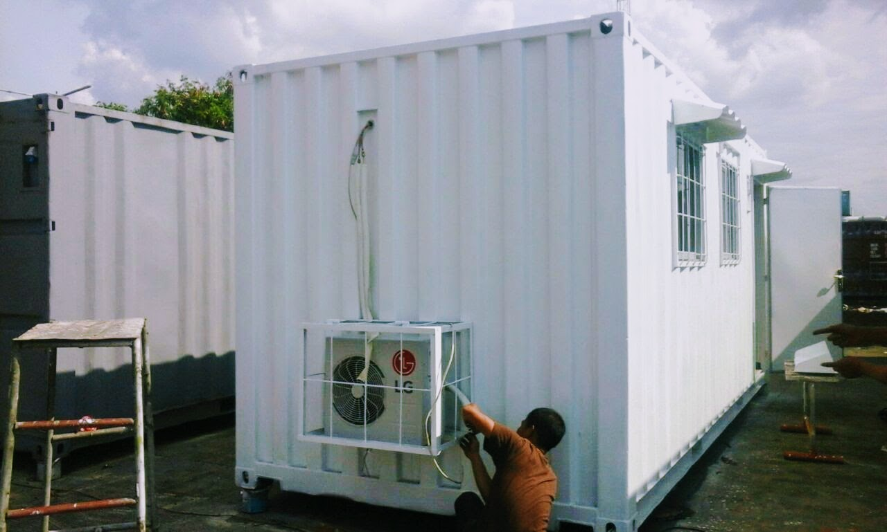 Rumah Box Container Container Office Salle Unit Jual