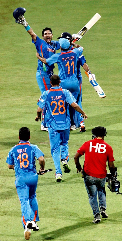 INDIAN CRICKET TEAM: World cup Winning momentz...