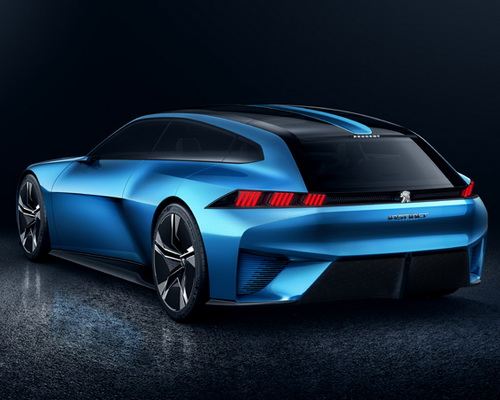 www.Tinuku.com Peugeot Instinct concept brings latest technology autonomous car and learn user habits to manage system