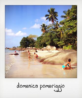 Seychelles con bambini piccoli: la spiaggia di Beau Vallon a Mahe