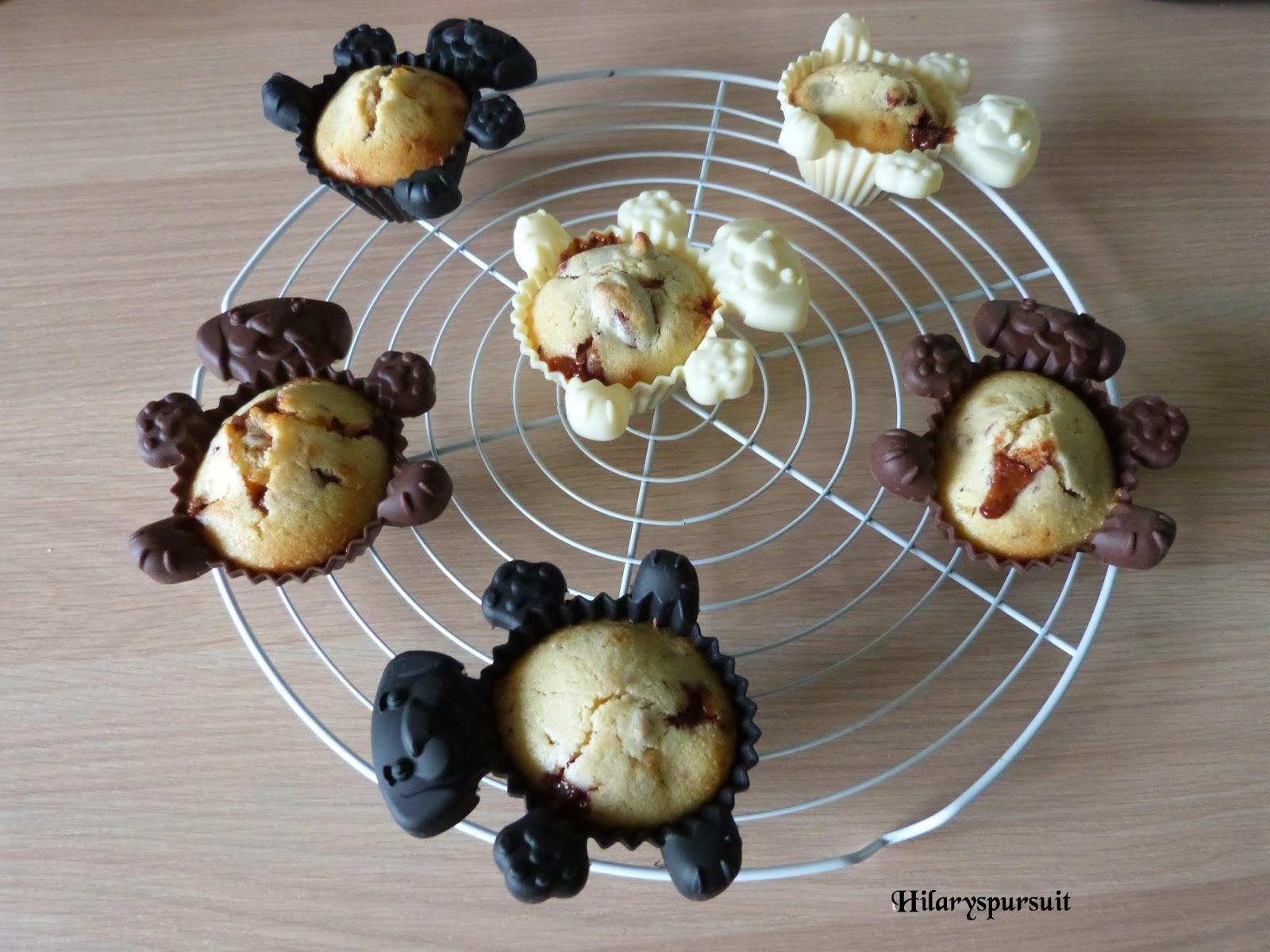 Muffins aux éclats de daim® et noix de pécan