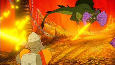 Videojuego Dragon's Lair