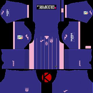 CD Leganes 2017/18 - Dream League Soccer Kits
