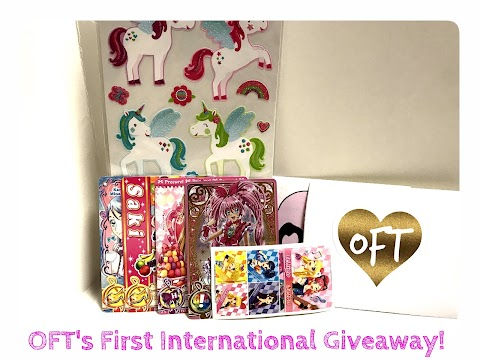 OFT's FIRST INTERNATIONAL GIVEAWAY!