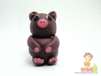 clay pig handcrafts arts creative DIY