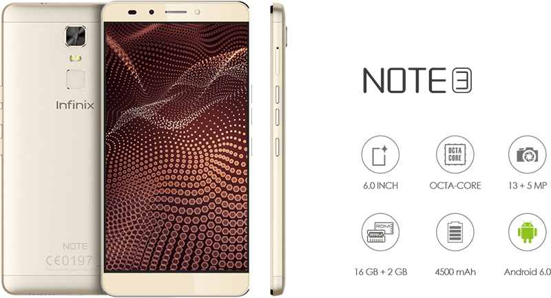 Infinix Note 3 With 2 GB RAM Silently Arrived In PH For PHP 7199!