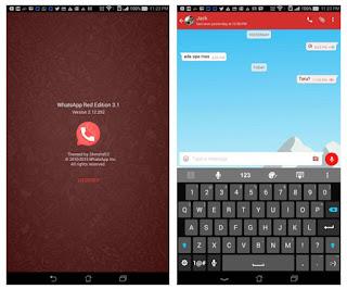Whatsapp Mod Red Update Terbaru