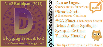 #AtoZchallenge 2017 Operation Awesome Debut Authors - Why We Love Them (And You Should, Too!)