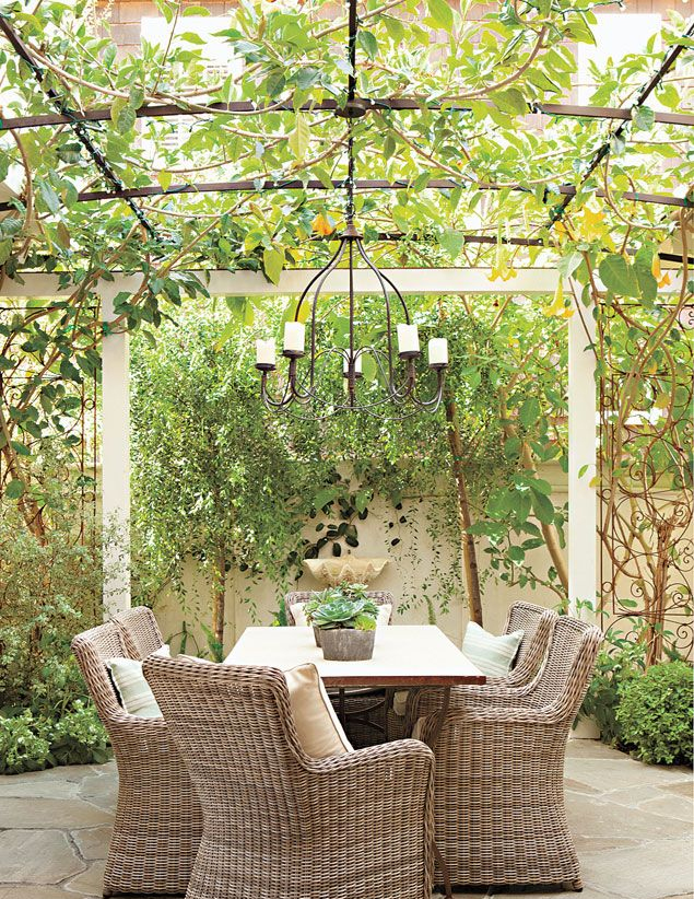 "via luxe - collected by linenandlavender.net for ""Alfresco-Outdoor Living"" -  http://www.linenandlavender.net/2014/04/inspiration-file-outdoor-living.html"