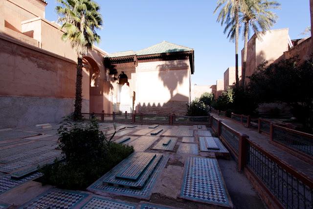 Exterior de las Tumbas Saadíes