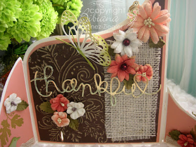 Bendi Thanksgiving card center panel