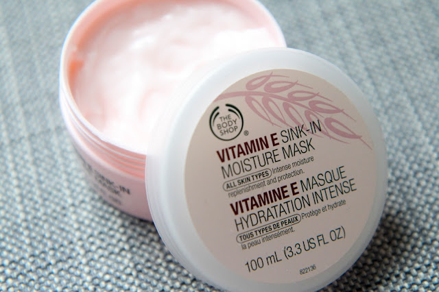 The Body Shop's Vitamin E Sink-In Moisture Mask