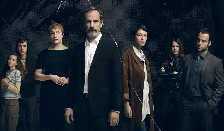 Blanca Portillo, Francesc Garrido, Aida Folch, Eva Santolaria y Carles Francino