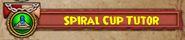 Wizard101 Spiral Cup Gauntlet Bundle Card Badge