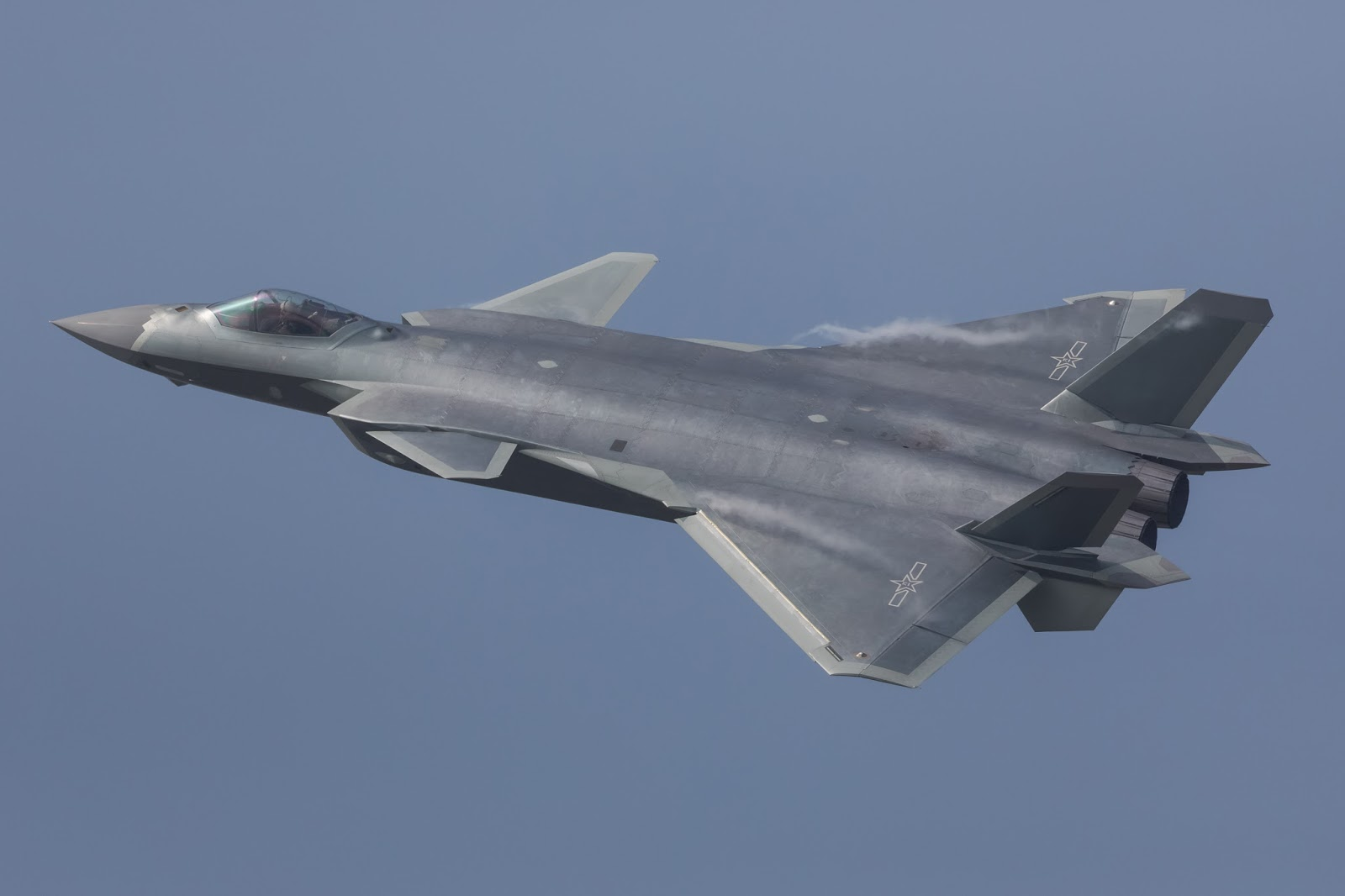 Reviews and analysis of China J20 stealth fighter