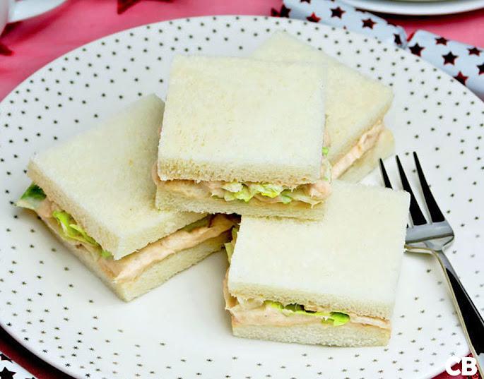 Recept Elegante zalmsandwiches