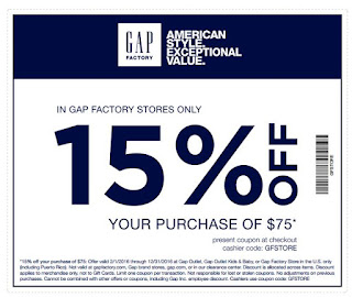 graphic about Gap Factory Printable Coupon titled Hole Outlet Printable Discount coupons May well 2018 ~ Discount coupons 2018