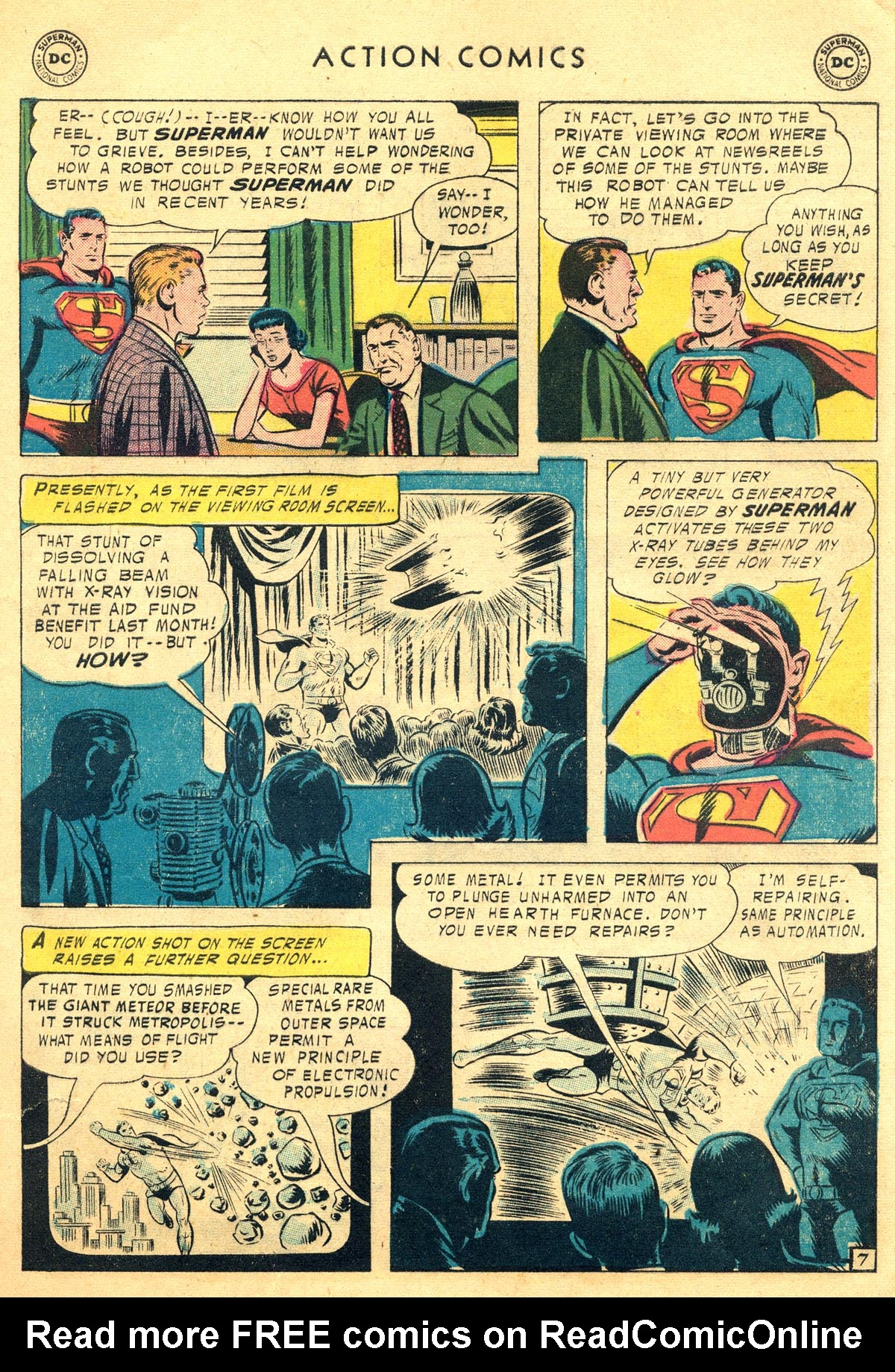 Read online Action Comics (1938) comic -  Issue #225 - 9