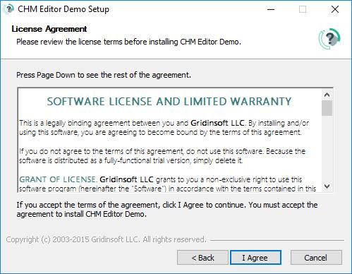 Hướng dẫn cài đặt CHM Editor 3.1.0 2