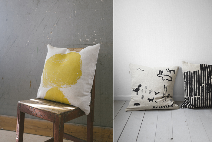 new pillows from Fine Little Day  spring 2015 collection