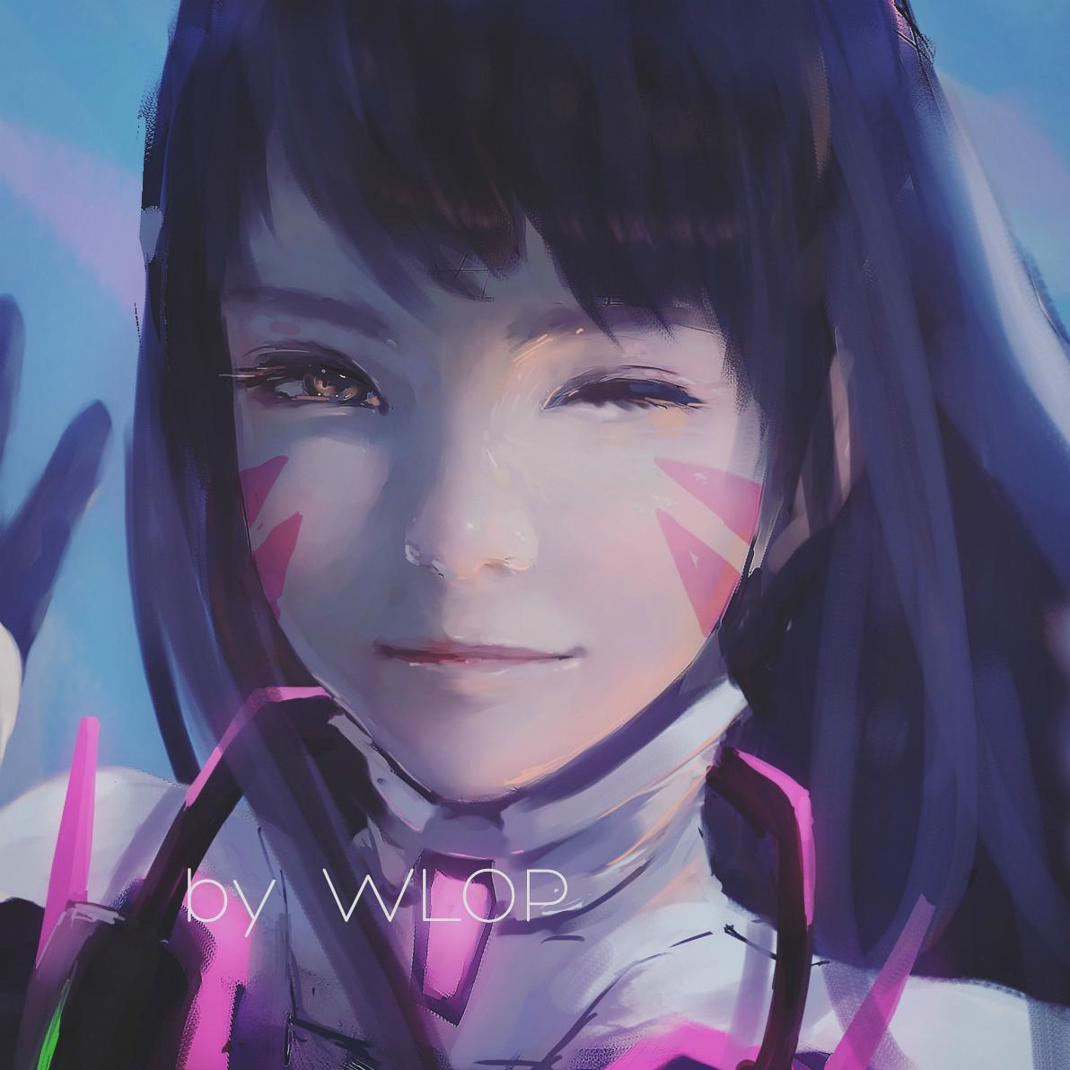 A incrível arte digital de Wang Ling
