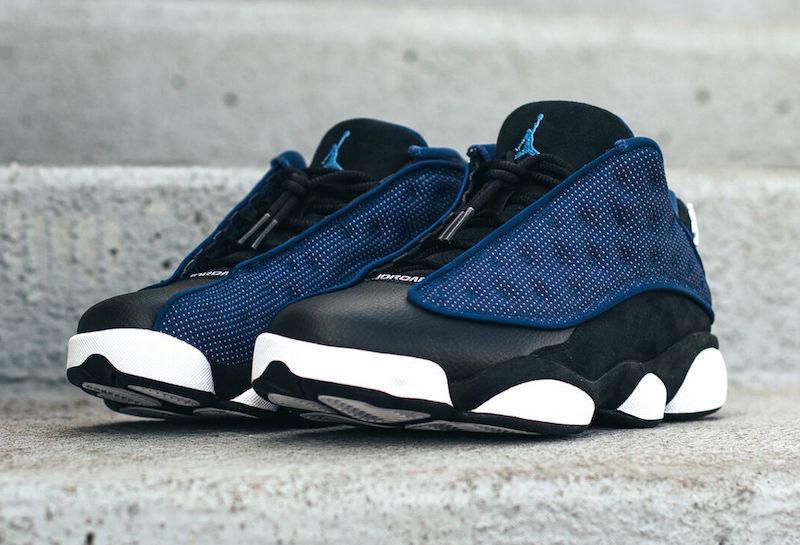 meet aa224 02be7 Swag Craze: First Look: Nike Air Jordan 13 Low 'Brave Blue'