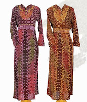 Batik Motif Dengan Gradasi Variasi Warna