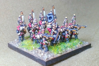 2nd place: SYW Grenadiers, by ali657 - wins £10 Pendraken credit!