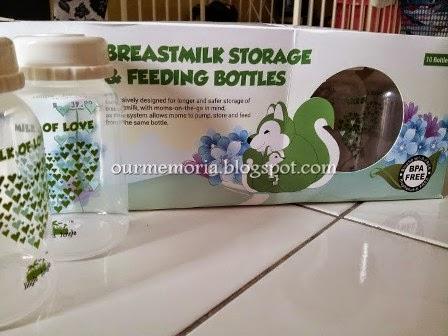 Panduan penyimpanan susu perahan EBM