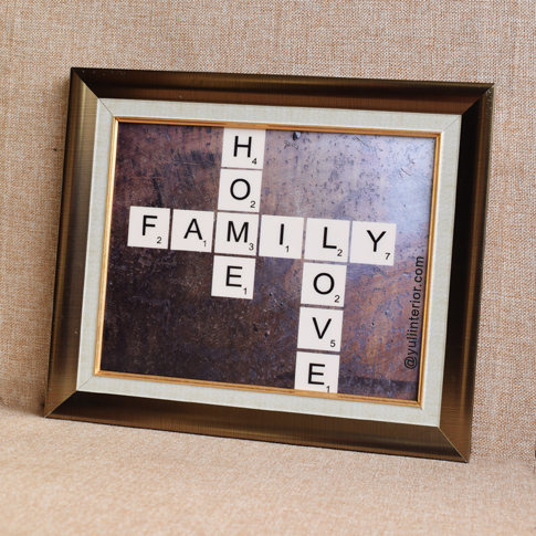 Scrabble Letters Wall-Frame, Wall Art in Port Harcourt, Nigeria