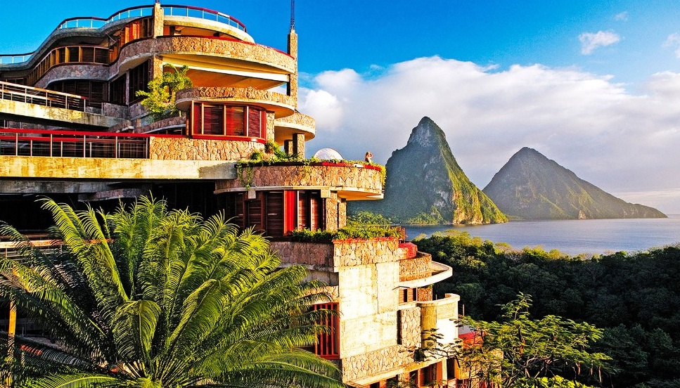 Jade Mountain Di St Lucia